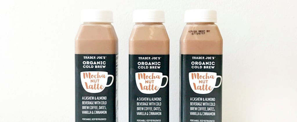 Meet Your New Favorite Dairy-Free Cold Brew Mocha Latte From Trader Joe's