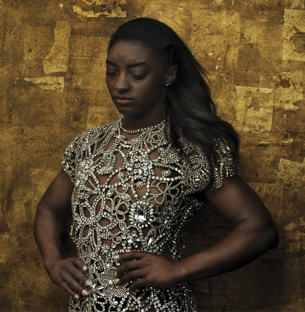 Simone Biles Talks Hair Criticism in Vogue August 2020 Issue