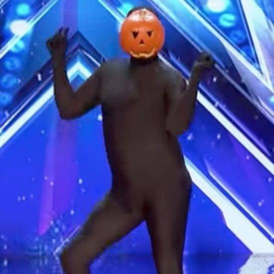 Dancing Pumpkin Man Audition For America's Got Talent Video