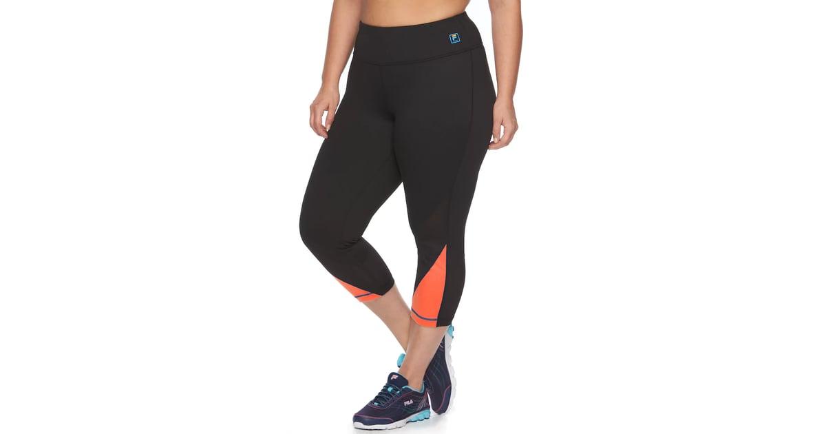 f50a38e44b5181 Fila Sport Workout Crop Leggings   Plus-Size Leggings For Workouts    POPSUGAR Fitness Photo 4