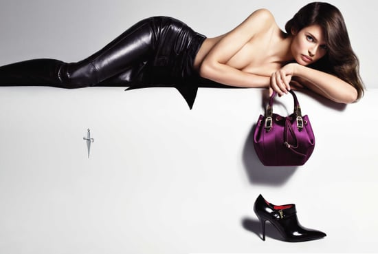 Bianca Balti Stars in Cesare Paciotti's Fall '09 Ads