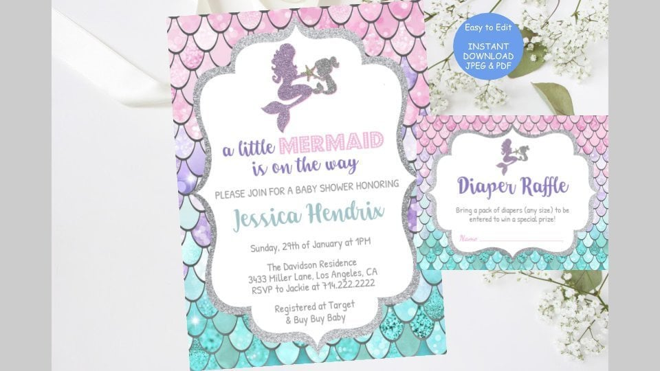 Unique Baby Shower Invitations Popsugar Family