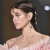 Kaia Gerber's Golden Hair Details