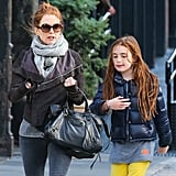 Julianne Moore and Liv Freundlich walked through NYC together.