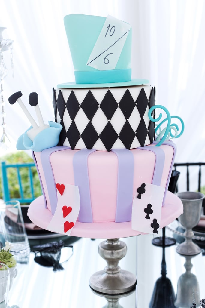 Mad Hatter Cake Girls Birthday Cakes Popsugar Family Photo 33