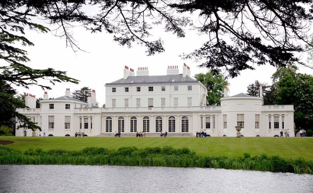 The grand Frogmore House near Frogmore Cottage.   Facts ...