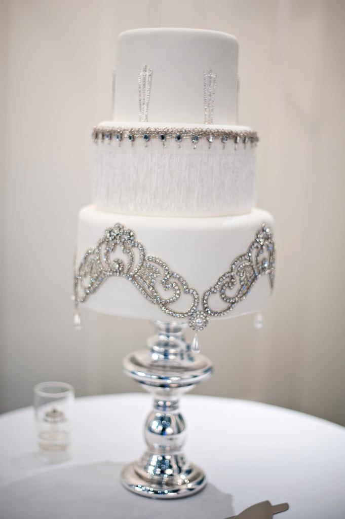 This romantic cake is practically dripping in elegance with its delicate details.