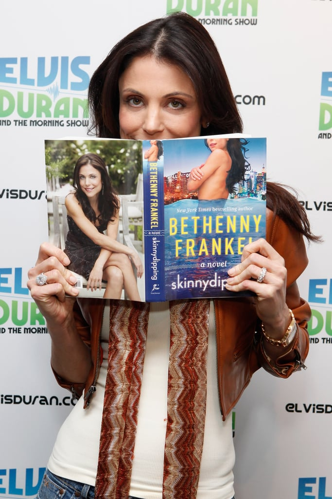 "Bethenny has written three self-help/health books, and one novel (pictured here) titled ""Skinnydipping"". But she's not resting on her laurels now — her talk show, Bethenny, which was tested last year, has been given the go-ahead and is scheduled to debut later this year, with good friend Ellen DeGeneres serving as executive producer. Keep watching this space!"