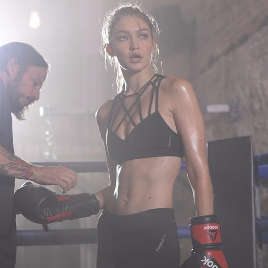 Gigi Hadid Reebok #PerfectNever Campaign