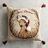 Woodland Friends Deer Pillow ($40)