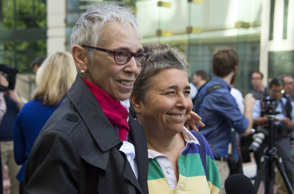 Diane Ullius and Rhonda Buckner got married in Canada, but on Monday