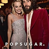 Pictured: Margot Robbie and Jared Leto
