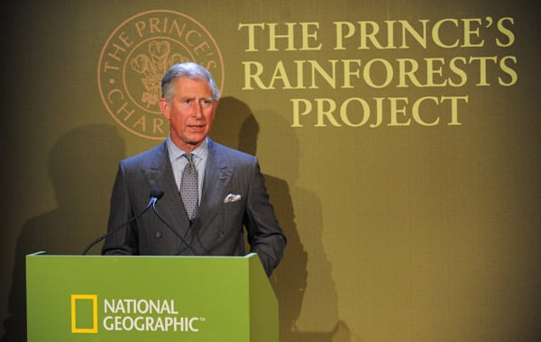 5/5/2009 Prince Charles's Rainforest Campaign Video