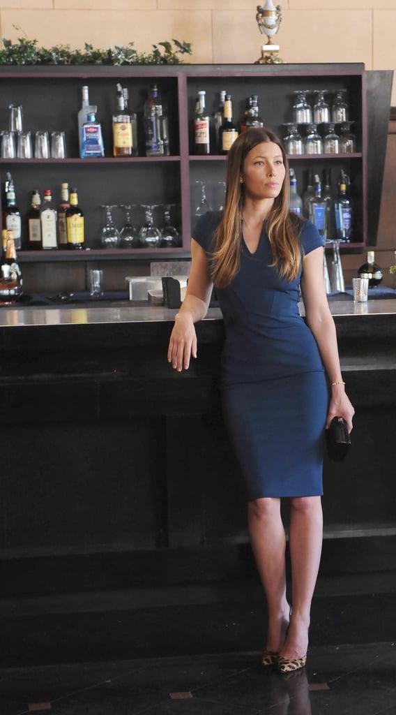 Jessica Biel plays Kat in the season premiere.