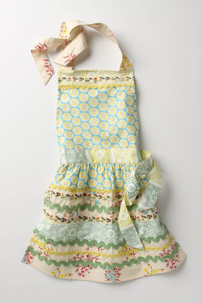 Anthropologie Sewing Basket Apron