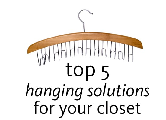 Fab's Top 5 Clever Hanging Solutions for Your Closet: Cool Hangers For Your Wardrobe Online