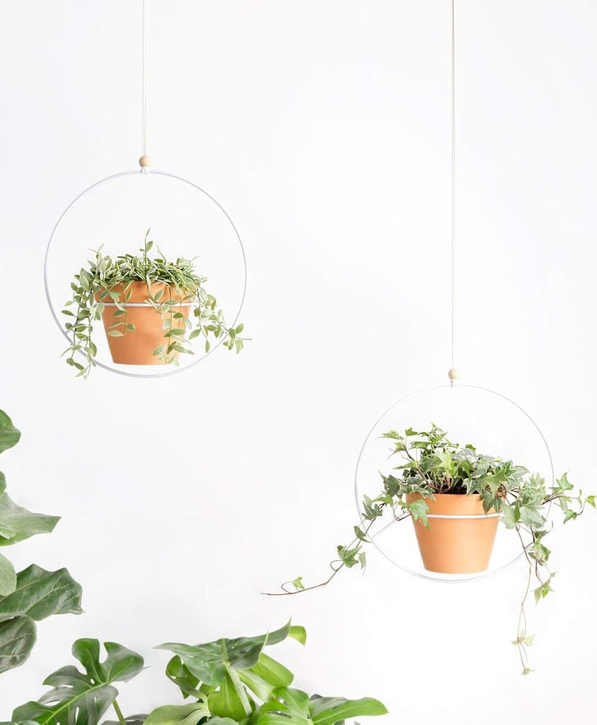 Mkono Metal Round Hanging Planters