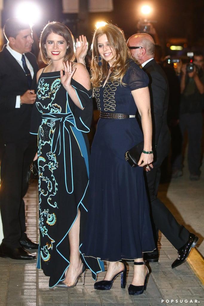 Princess Eugenie Wearing a Peter Pilotto Dress