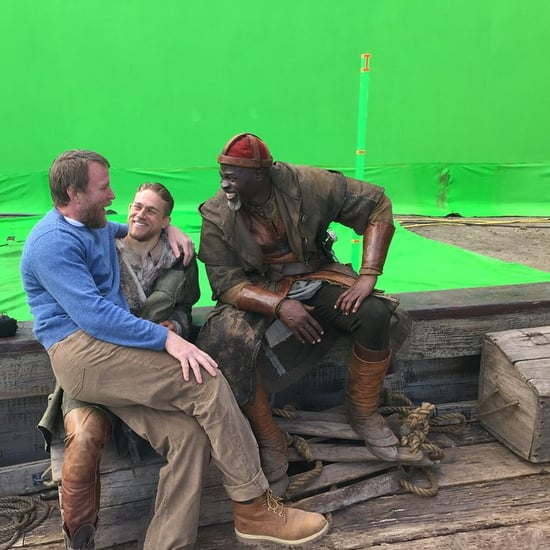 Charlie Hunnam on the Set of Knights of the Roundtable