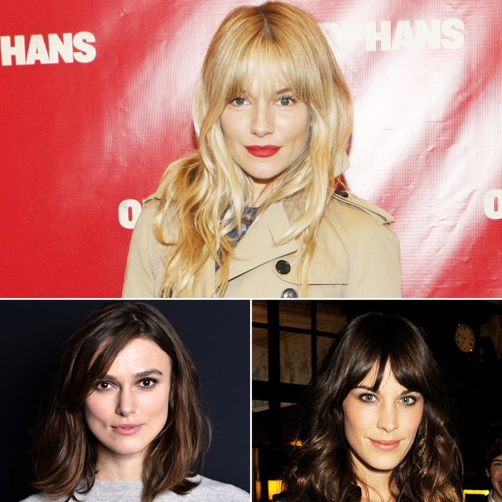 Celebrity Fringe Styles for Spring 2013
