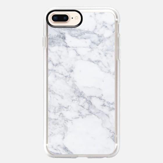 Casetify Grey Marble Classic Grip Case