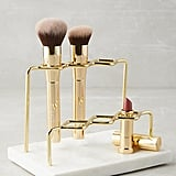 Marble Vanity Lipstick and Brush Holder