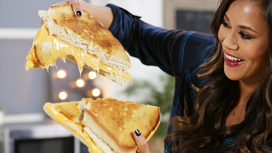 Giant Grilled Cheese