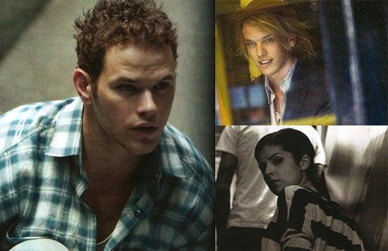 Photos of Twilight and Eclipse Stars Kellan Lutz, Anna Kendrick, and Jamie Campbell-Bower in BlackBook Magazine 2009-09-29 06:00:00