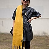 How to Make Your Scarf the Most Interesting Part of Your Outfit