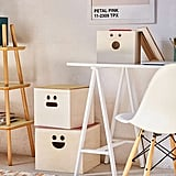 Urban Outfitters Happy Face Nesting Storage Box Set