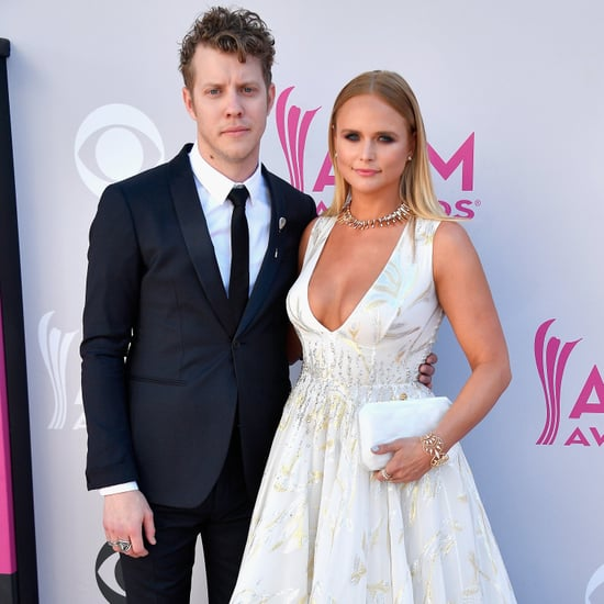 Miranda Lambert and Anderson East at the 2017 ACM Awards