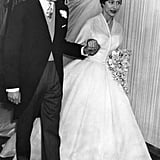Princess Margaret in Norman Hartnell, 1960