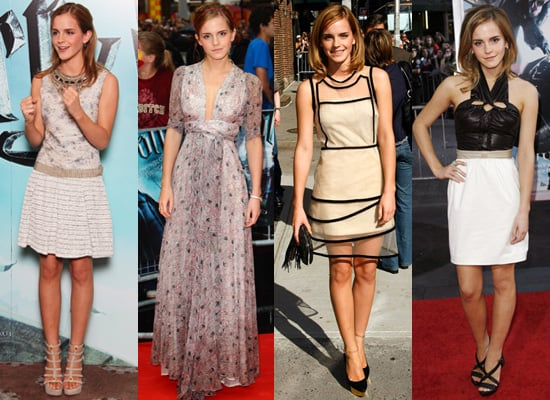 Photos of Emma Watson Promoting Harry Potter