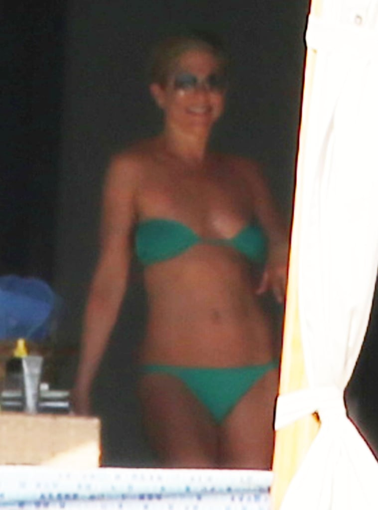 Jennifer Aniston was all smiles during her bikini-clad Cabo vacation this week.