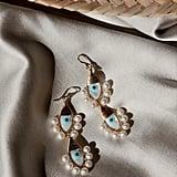 Beck Jewels Evil Eye Duo Earrings