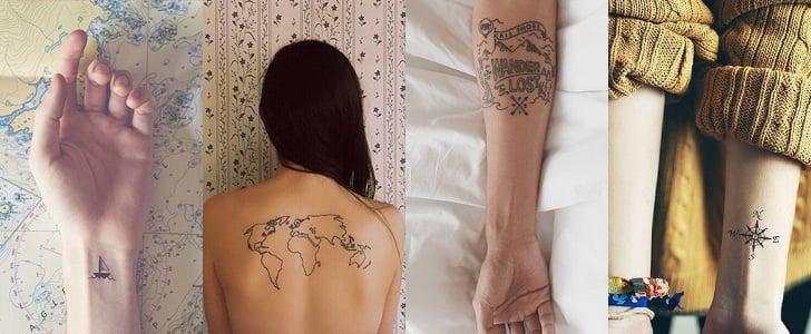 Travel Inspired Tattoos From Instagram