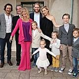 Goldie Hawn With Her Grandchildren Pictures