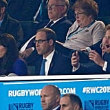 Prince William and Kate Middleton at Rugby World Cup 2015