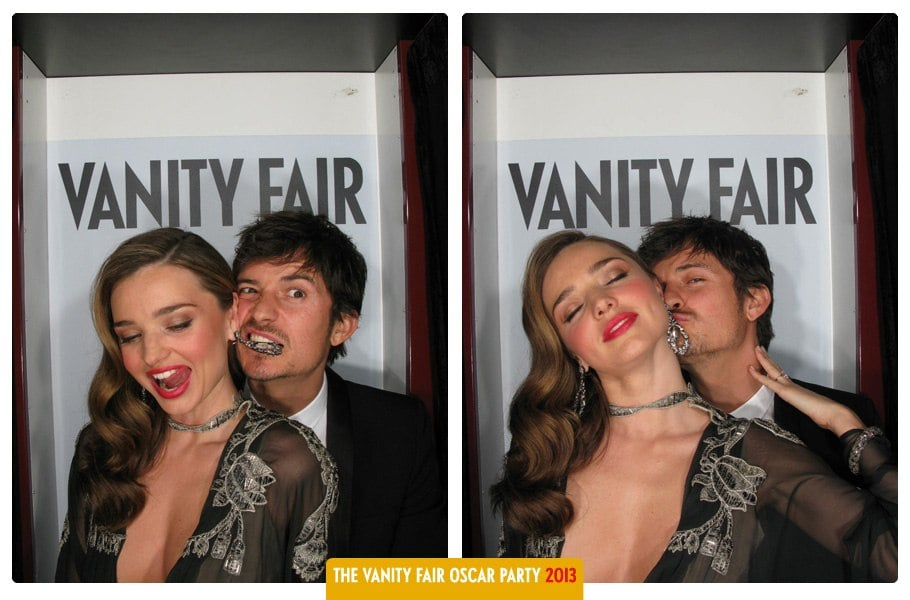 Celebs Get Silly & Sexy in Just-Released Vanity Fair Oscars Photo Booth Snaps