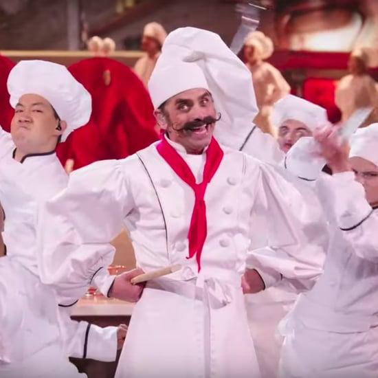"John Stamos's ""Les Poissons"" Performance Video"