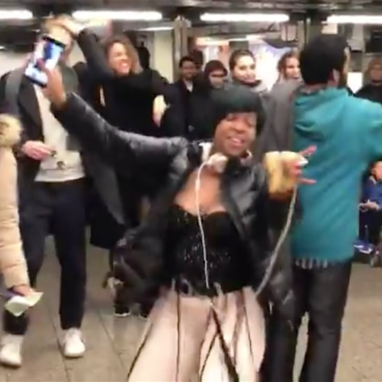 "Subway Commuters Dancing to ""Bodak Yellow"""