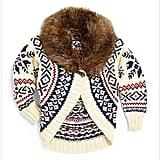 Ralph Lauren Roving Faux-Fur Sweater