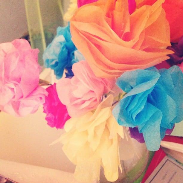 Making paper flowers easy kids crafts popsugar moms photo 1 making paper flowers mightylinksfo