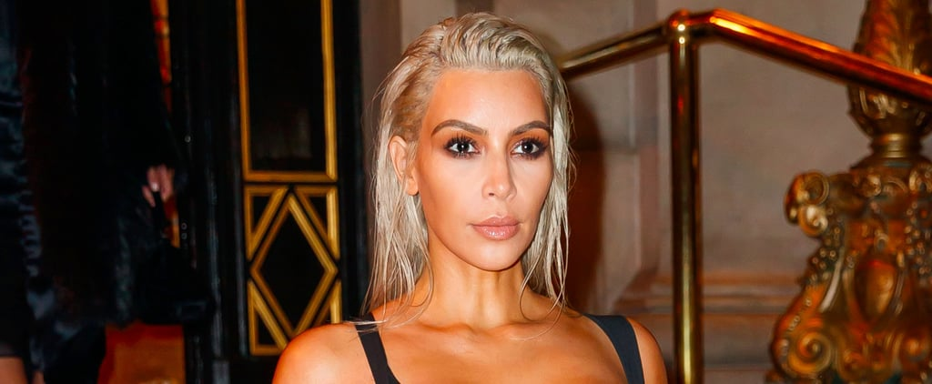 Kim Kardashian Celebrates Her Exciting Baby News With 2 Sexy NYFW Appearances