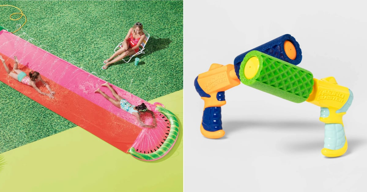 Turn Your Backyard Into a Mini Amusement Park With 20 Water Toys and Activities