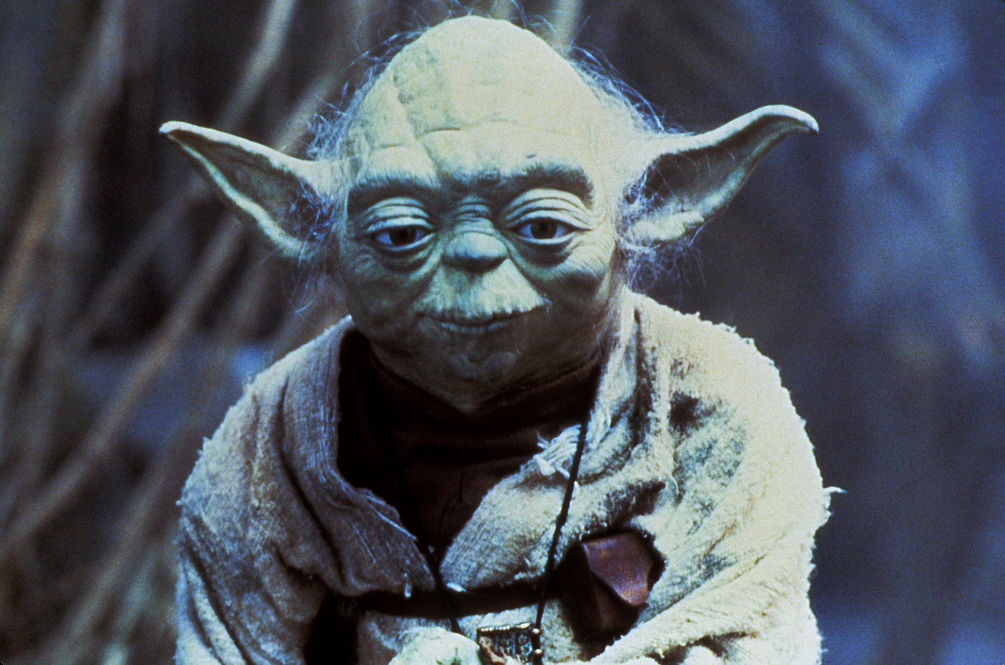 STAR WARS: EPISODE V - THE EMPIRE STRIKES BACK, Yoda, 1980, Lucasfilms / courtesy Everett Collection
