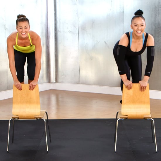 Chair Workout Video With Madonna's Trainer
