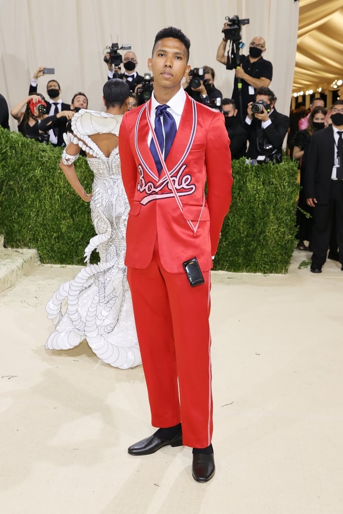 Tyler Mitchell at the 2021 Met Gala