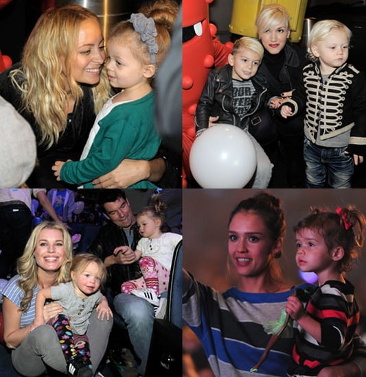 Pictures of Jessica Alba, Gwen Stefani, Nicole Richie, and Celebrity Babies at Yo Gabba Gabba Shows