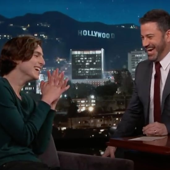 Timothée Chalamet  on Jimmy Kimmel Live February 2018